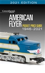 Kalmbach 108621 American Flyer Pocket Price Guide 1946-2021 Softcover