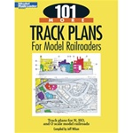 Kalmbach 12443 101 More Track Plans for Model Railroaders Softcover