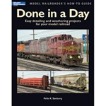 Kalmbach 12458 Book Model Railroader's How-To Guide Done in a Day