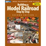 Kalmbach 12467 Book Building a Model Railroad Step by Step Second Edition
