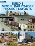Kalmbach 12821 Build 3 Model Railroader Project Layouts Softcover 112 Pages