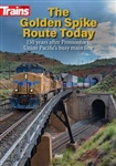 Kalmbach 15208 The Golden Spike Route Today DVD 60 Minutes