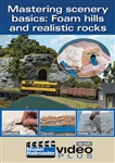 Kalmbach 15301 Mastering Scenery Basics DVD Foam Hills and Realistic Rocks