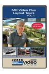 Kalmbach 15316 Model Railroader Video Plus Layout Tours Volume 1 1 Hour 13 Minutes
