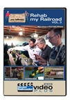 Kalmbach 15318 Rehab My Railroad Model Railroader DVD Video Plus Volume 3 1 Hour 30 Minutes