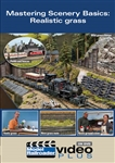 Kalmbach 15322 Model Railroader Video Plus DVD Mastering Scenery Basics Realistic Grass