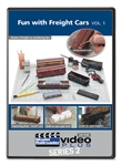 Kalmbach 15343 Fun w/ Freight Cars Model Railroader Video Plus DVD Volume 1