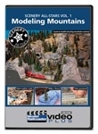 Kalmbach 15349 Scenery All-Stars DVD Volume 1: Modeling Mountains 400-15349