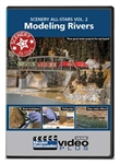 Kalmbach 15350 Scenery All-Stars DVD Volume 2 Modeling Rivers