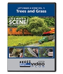 Kalmbach 15352 Let's Make a Scene Model Railroader Video Plus DVD Volume 4 Trees and Grass