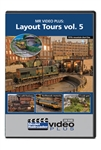 Kalmbach 15367 Layout Tours DVD MR Video Plus Volume 5 1 Hour