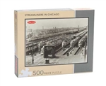 Kalmbach 88000 Streamliners in Chicago Puzzle 500 Pieces