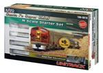 Kato 106--0018 N Santa Fe Super Chief Starter Set Santa Fe
