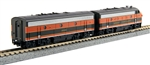 Kato 106-0421-DCC N EMD F7 A-B Set DCC Great Northern 444D 444C