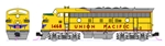 Kato 106-0426-LS N EMD F7 A-B Set LokSound and DCC Union Pacific 1468, 1468B