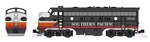 Kato 106-0427-LS N EMD F7 A-B Set LokSound and DCC Southern Pacific 6182, 8082