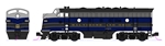 Kato 106-0428-DCC N EMD F7 A-B Set DCC Baltimore & Ohio 4503, 5493