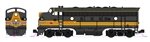 Kato 106-0429 N EMD F7 A-B Set Standard DC Milwaukee Road 88A, 88B
