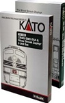 Kato 106-090 N Streak Zephyr Train-Only Set DC Chicago Burlington & Quincy