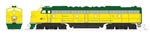Kato 106-104LS1 N E8A & 5 Car Train - LokSound Lighting and DCC C&NW 400