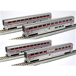 Kato 106-3517 N Amtrak Superliner 4-Car Set A Phase III