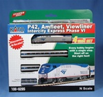 Kato 106-6285 N Amfleet & Viewliner Intercity Express Train-Only Set
