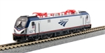 Kato 106-8001 N ACS-64 Amfleet Bookcase Train-Only Set DC Amtrak Phase VI