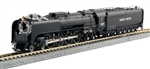Kato 126-0402-DCC N Class FEF-3 4-8-4 DCC Union Pacific 838 Freight Version Flat Graphite