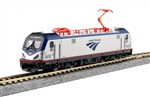 Kato 137-3001-DCC N Siemens ACS-64 Electric DCC Amtrak #600 David L. Gunn Travelscape Logo