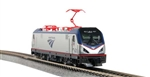Kato 137-3003-DCC N Siemens ACS-64 Electric DCC Amtrak #648 Travelscape Logo