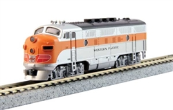 Kato 176-1203-DCC N EMD F3A Dual Headlights DCC Western Pacific #803