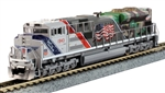 Kato 1761943LS N EMD SD70ACe w/ Nose Headlight LokSound and DCC Union Pacific #1943 381-1761943LS