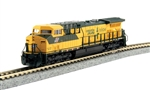 Kato 1767035DCC N GE AC4400CW DCC Chicago & North Western 8804 green 381-1767035DCC