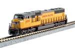 Kato 176-7607 N EMD SD70M with Standard Flat Radiators Standard DC Union Pacific 4000