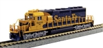 Kato 176-8209-DCC N EMD SD40-2 Mid-Production DCC Santa Fe 5072