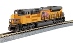 Kato 176-8522-LS N EMD SD70ACe w/ Nose Headlight LokSound and DCC Union Pacific 9088 US Flag