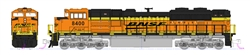 Kato 176-8523-DCC N EMD SD70ACe w/ Nose Headlight DCC BNSF Railway 8400 Wedge Logo