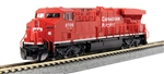 Kato 176-8934-DCC N GE ES44AC GEVO DCC Canadian Pacific 8700