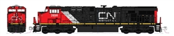 Kato 176-8939 N GE ES44AC GEVO Standard DC Canadian National 2952 Website Logo