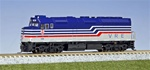 KAT1769001 Kato USA Inc N EMD F40PH VRE #V36 381-1769001