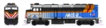 Kato 176-9104-DCC N EMD F40PH Commuter Version DCC Metra Chicago 142 Ravinia