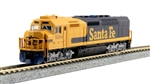 KAT1769211DCC Kato USA Inc N EMD SDP40F Type 4a w/DCC, Santa Fe Freight #5250 381-1769211DCC