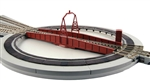 "Kato 20-283 N Electric Turntable Unitrack Kit 8-9/16"" Diameter"