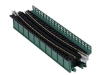 "Kato 20466 N Single-Track Curved Deck-Girder Bridge Code 80 Track Unitrack 17-5/8"" 448mm Radius 15 Degrees Green 381-20466"