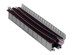 "Kato 20467 N Single-Track Curved Deck-Girder Bridge Code 80 Track Unitrack 17-5/8"" 448mm Radius 15 Degrees 381-20467"