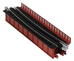 "Kato 20470 N Curved-Deck Girder Bridge w/ Code 80 Track Unitrack 19"" 481mm Radius 15 Degrees 381-20470"