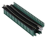 "Kato 20471 N Single-Track Curved Deck-Girder Bridge Code 80 Track Unitrack 19"" 481mm Radius 15 Degrees green 381-20471"