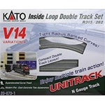 KAT208731 Kato USA Inc N V14 Dbl Track In Loop Set 381-208731