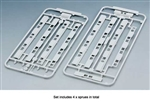Kato 23163 N Platform Edge Barrier w/ Doors Use w/ 381-23160 and 23161 pkg 4 Sprues w/ Decals Japanese 381-23163