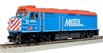Kato 302004 HO Passenger Starter Set Unitrack Chicago Metra F40PH Bi-Level Coach 381-302004
